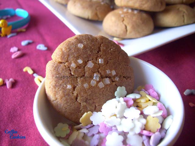 Coffee Cookies- Coffeelicious..