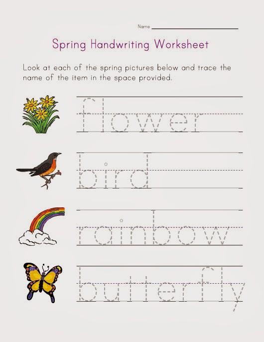 Kids Handwriting Worksheets