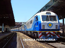 Tren inaugural de pasajeros Nro. 305 entre Plaza C. - Mar del Plata con nueva formación de origen c