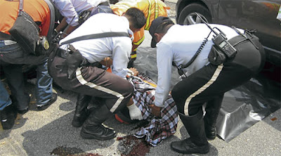 Tragedi konvoi motosikal berkuasa tinggi