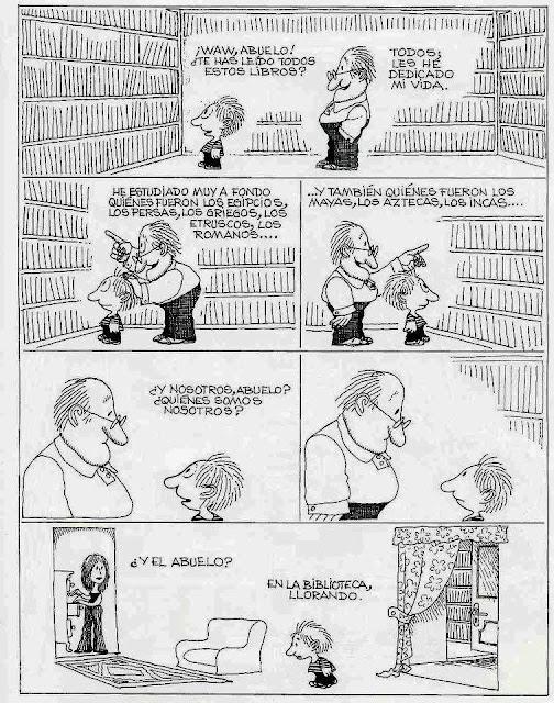 Viñeta de humor de Quino
