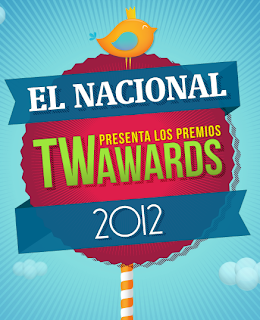 Por tercer año consecutivo, El Nacional y las agencias de Social Media más importantes de Venezuela se unen para Los Twitter Awards, los premios que se otorgan para reconocer a los mejores tuiteros de Venezuela. Los galardones se otorgarán por votación popular y la ceremonia se llevará a cabo en el mes de Septiembre. A partir de este lunes, y hasta el 26 de agosto, se recibirán las sugerencias del público para luego seleccionar a los nominados. Luego de que se determinen los seleccionados por categoría, serán los tuiteros quienes decidan el ganador de cada renglón. Puede obtener más información
