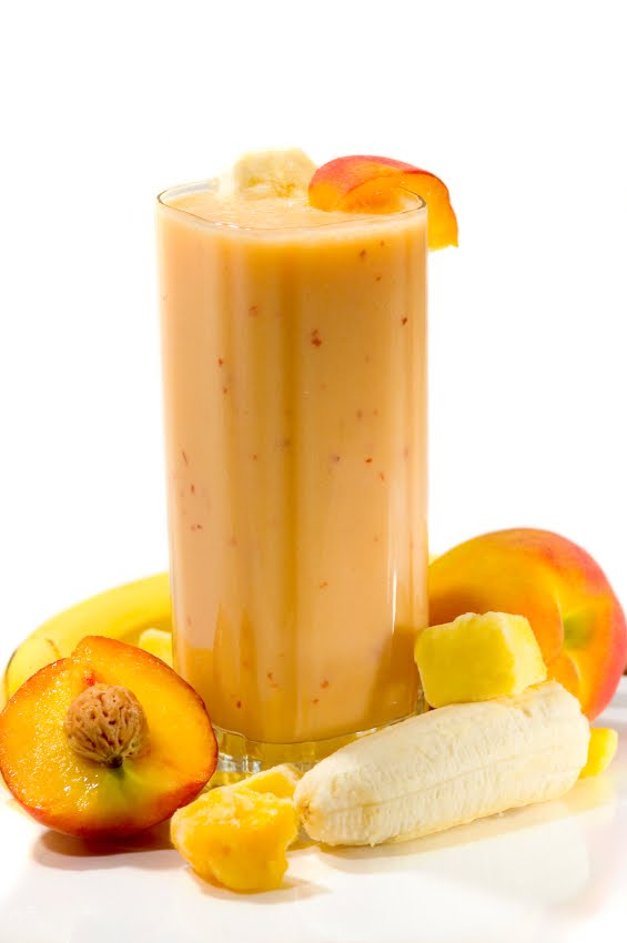 Our Banana Moments: Smoothies - Mango, Peach, & Banana