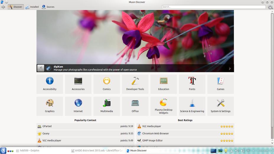Kubuntu 14.04 LTS muon