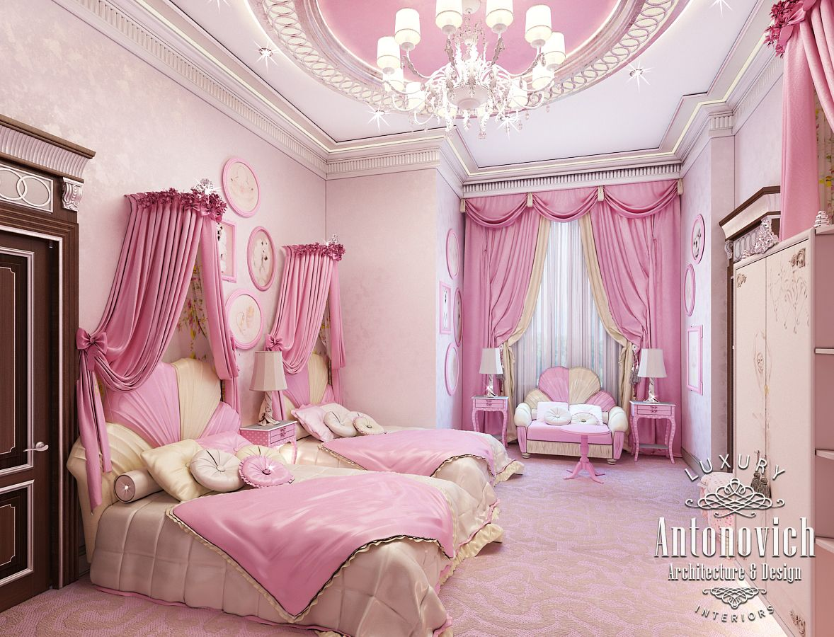 Beautiful dressing room design in dubai by luxury antonovich design - Author S Children S Rooms Interiors Reflect The Most Wonderful Dreams And Become An Ideal Habitat And The Best Reward For The Work Are The Happy Eyes Of