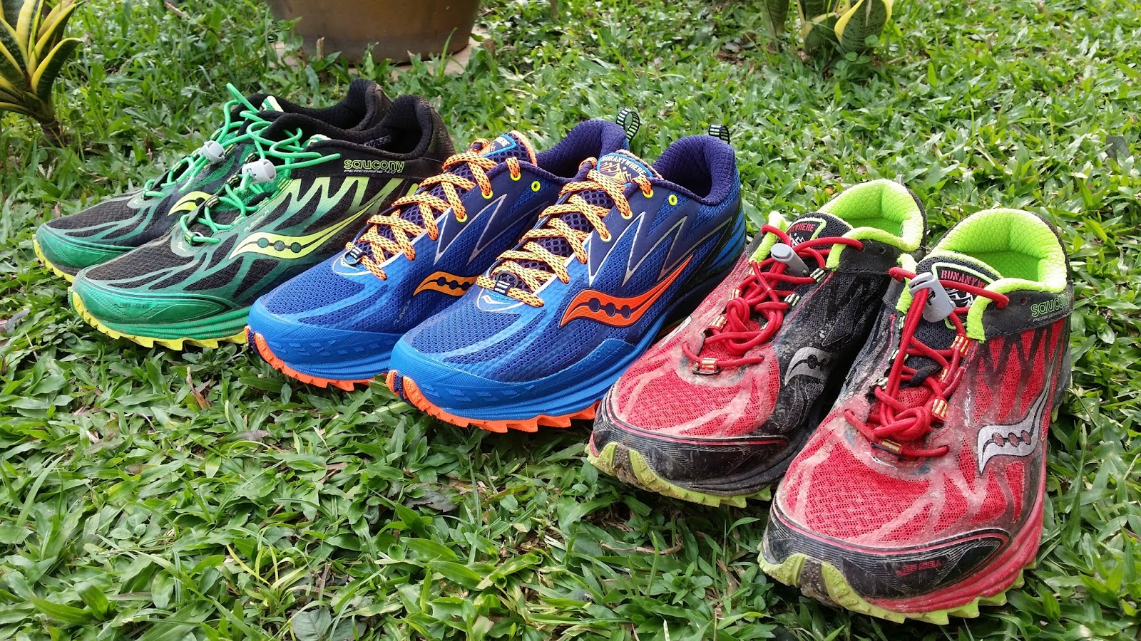 A Tough Exercise with Saucony Peregrine 7