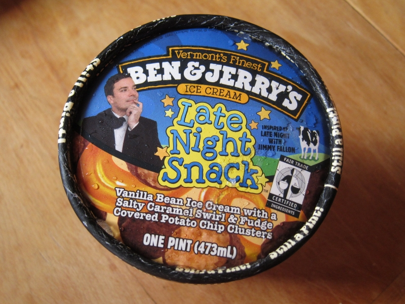 night snack ice cream was inspired by late night with jimmy fallon ...