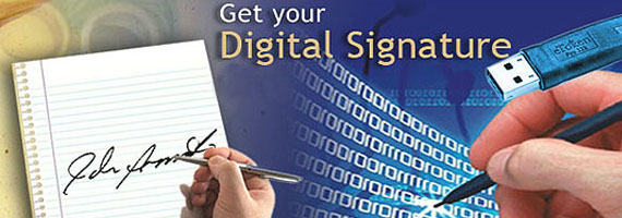 how to get digital signature franchise