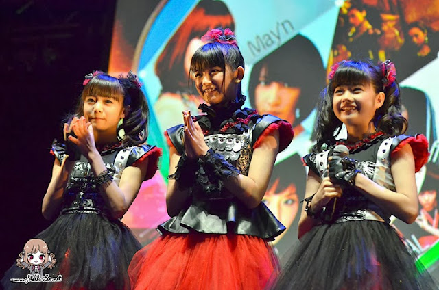babymetal in indonesia