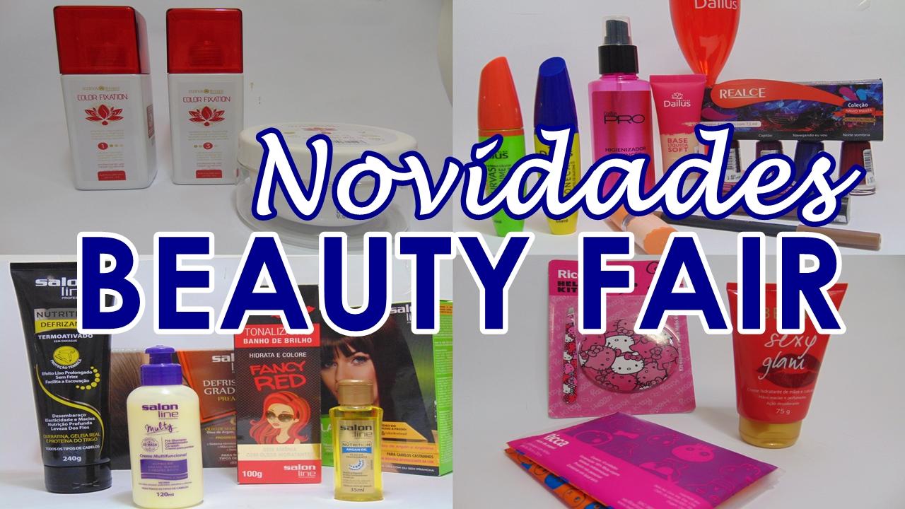Lançamentos Beauty Fair 2015