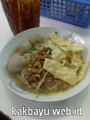 Mie Ayam Gajah Mungkur Depok Lama