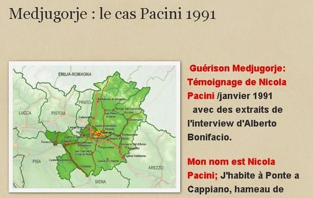 Medjugorje : le cas Pacini 1991