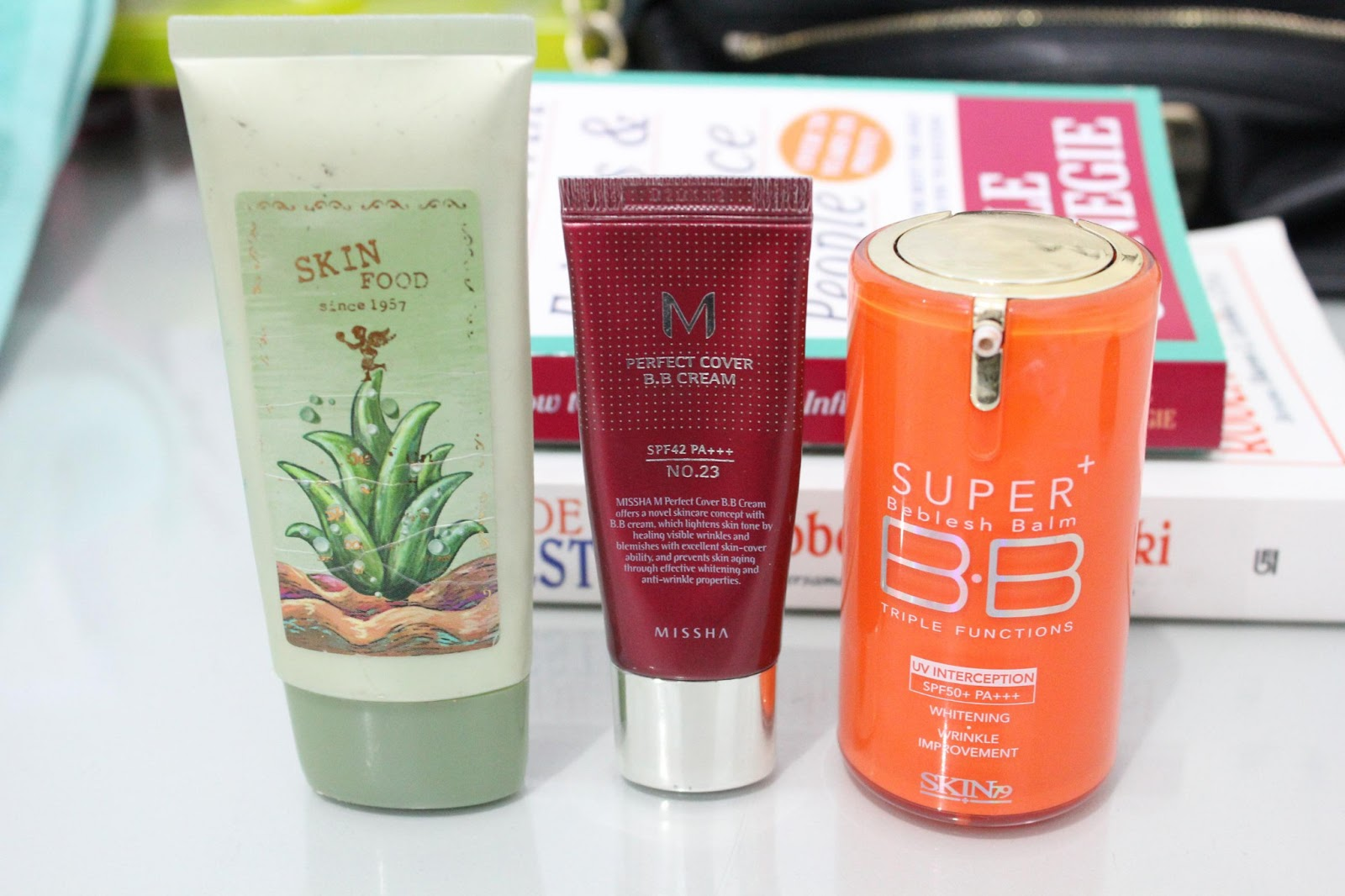 Bb cream skinfood