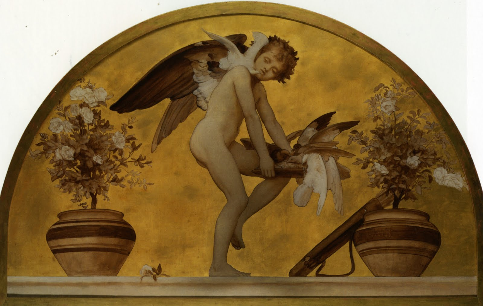 lord frederick leighton cupid