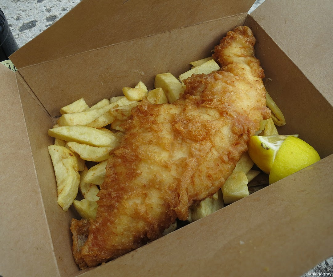 Fish and Chip Restaurant Recommendations Stonehaven, Scotland. You heard it at Adventures of a London Kiwi first...