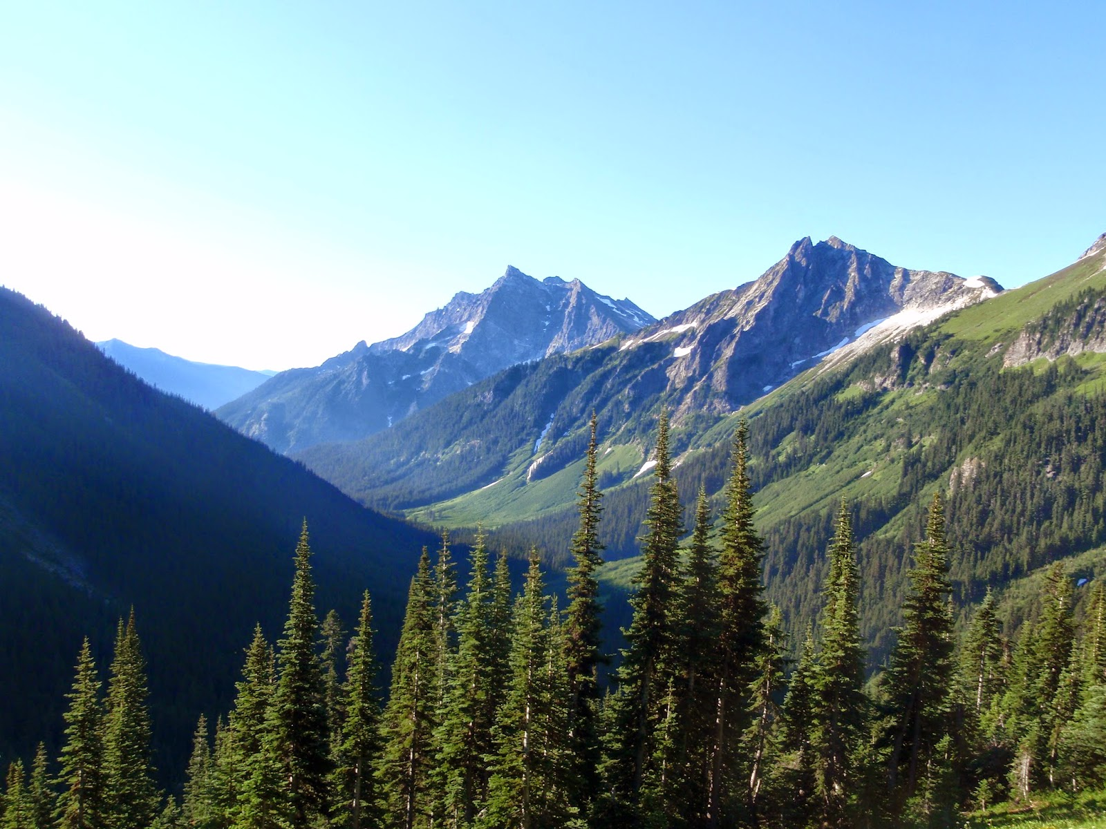 Glacier Peak Wilderness - Buck Creek trail and route out