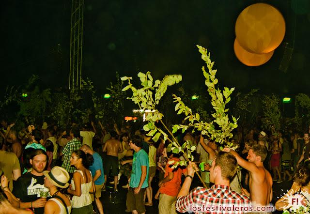 Sziget Festival: El Bosque invadiendo A38