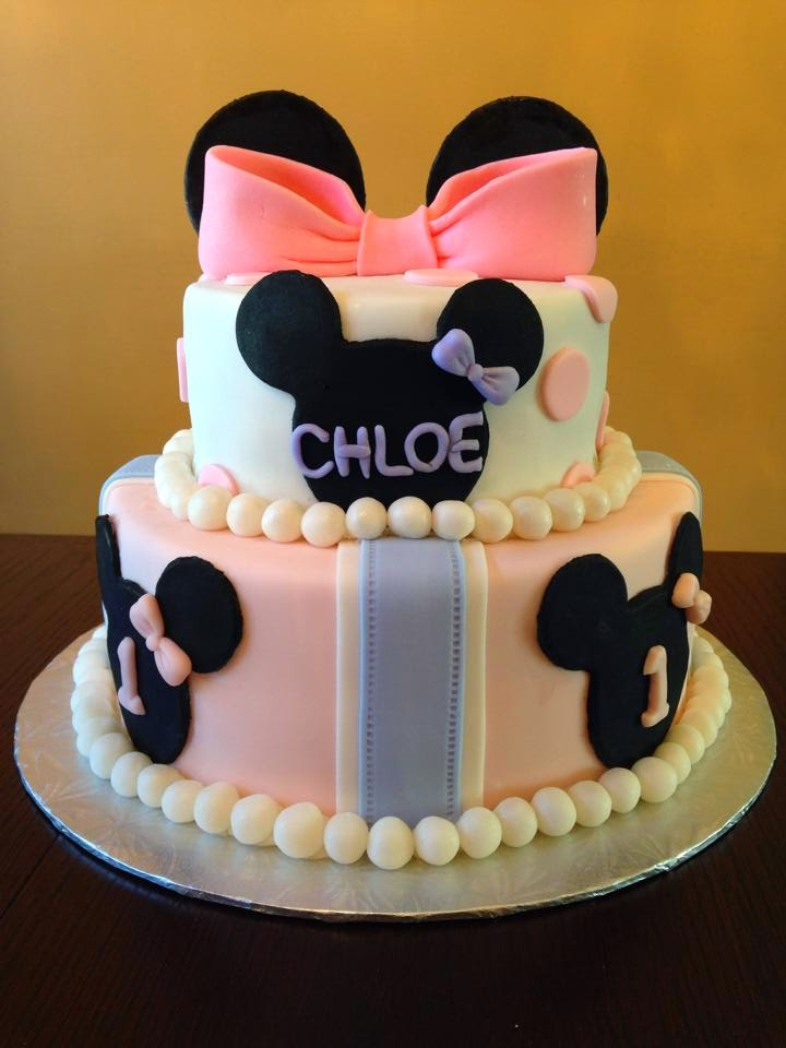 Cake For College Month Of May Minnie Mouse And Mothers Day