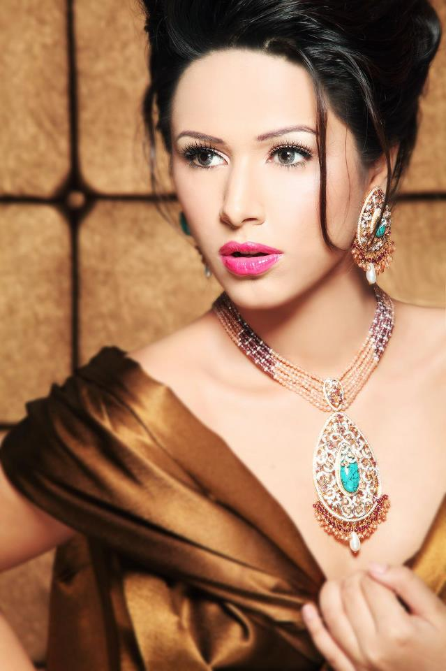 Maria B Eid Jewellery Latest Stylish 2013