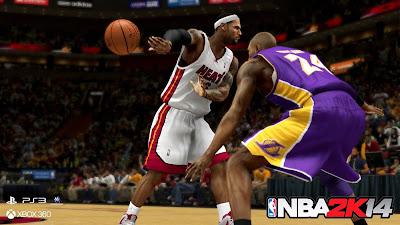 NBA 2K14 No Look Passes and New Pro Stick Control