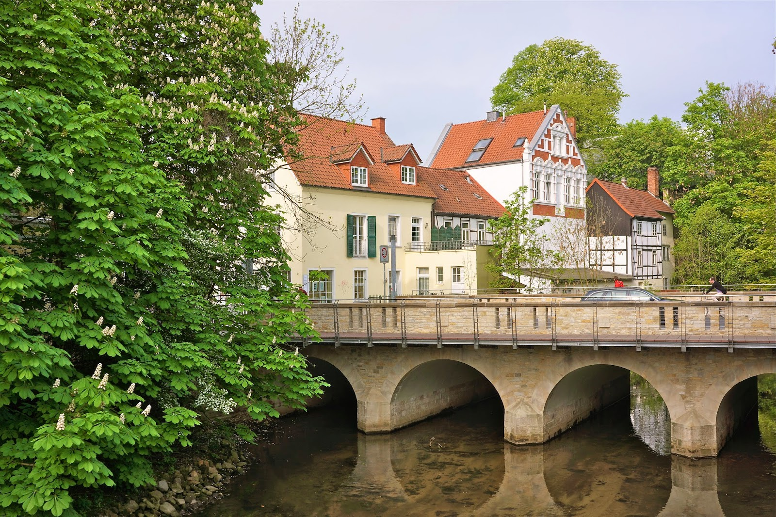 Picture of the old town of Osnabrück, Germany.