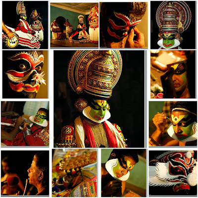 Kathakali - traditional dance form of India