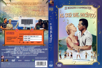 Caratula, cover, dvd:  Al sur del Pacífico | 1958 | South Pacific