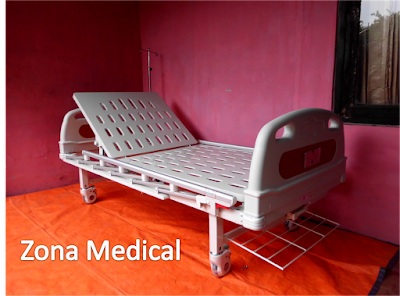 Tempat Tidur Pasien Rumah Sakit ABS 1 Crank SELLA [ RZ-26A]