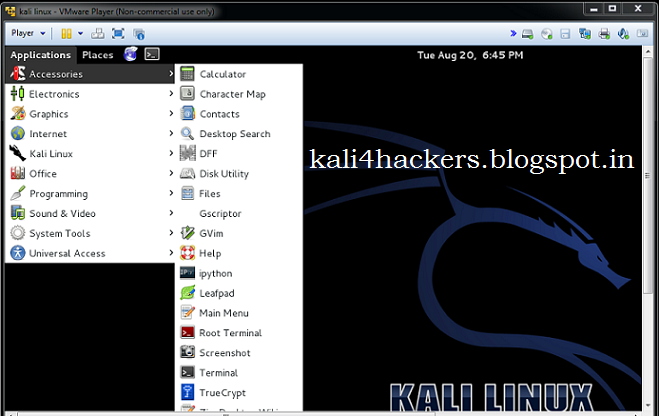 how to set password in kali linux