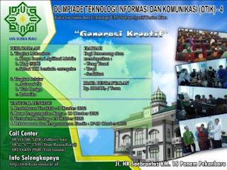 OTIK 4 Tahun 2012 Fakultas Sains dan Teknologi UIN SUSKA Riau