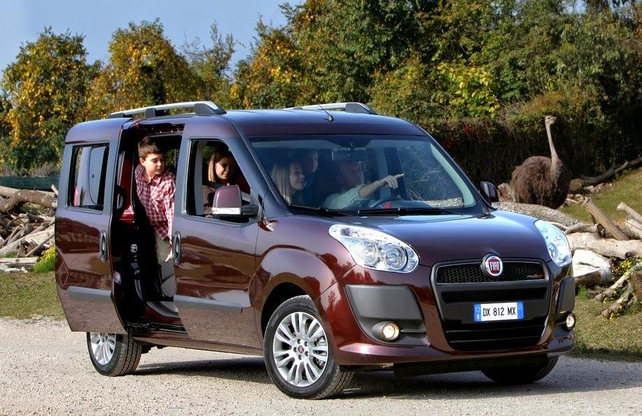 Novo Fiat Doblo 2014 7 lugares