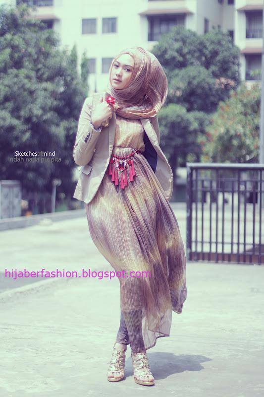 Cara Pakai Hijab Jilbab Gaya Feminim Indah Dalam Balutan Hijab
