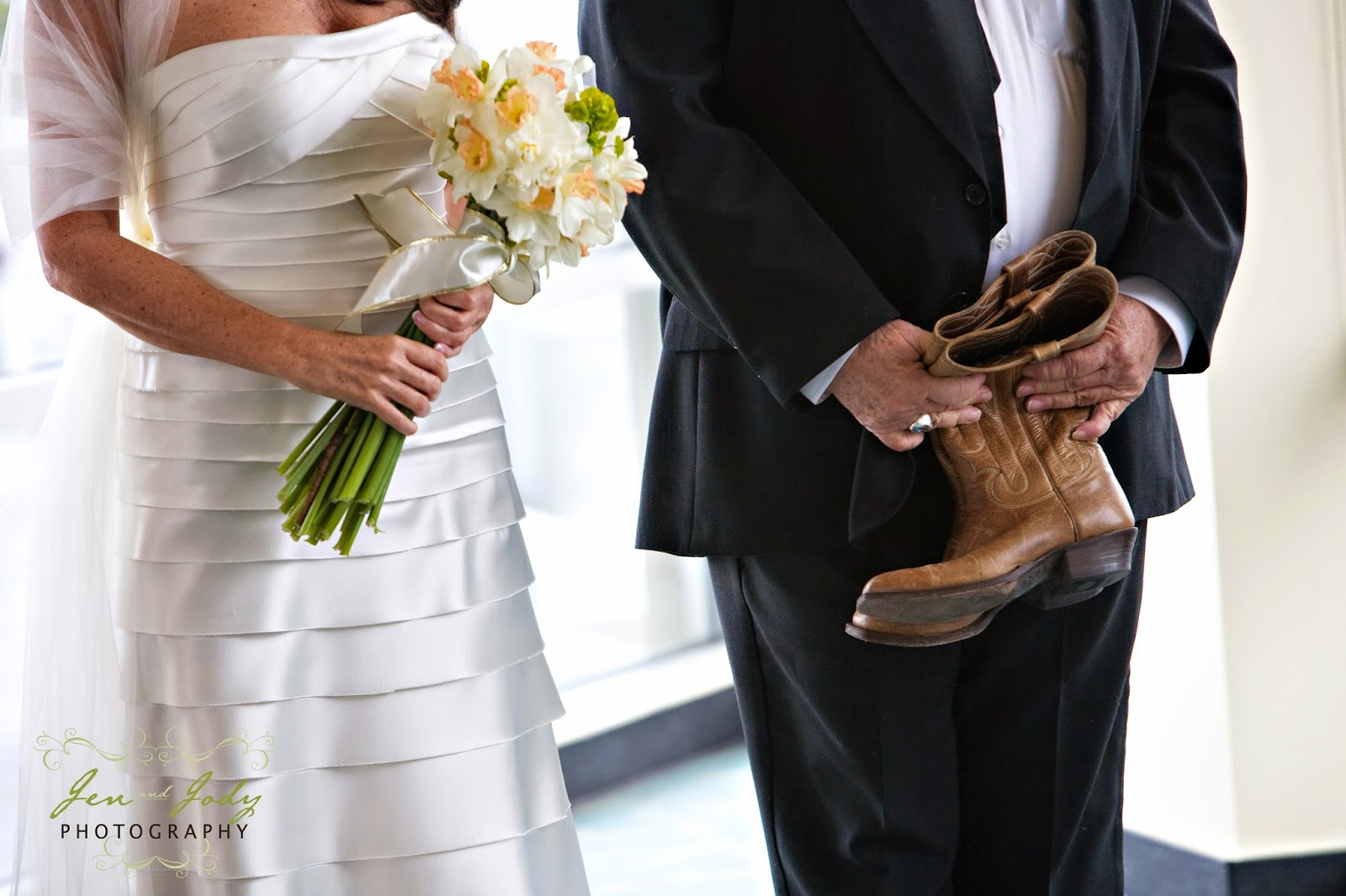 Wedding ceremony included a boot ritual - Patricia Stimac, Seattle Wedding Officiant