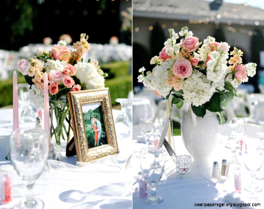 C Peach Blush Ivory Wedding Flowers at Thanksgiving Point