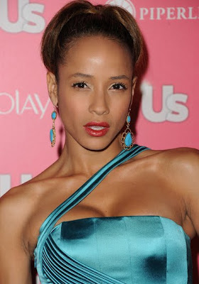 Dania Ramirez Dangling Gemstone Earrings