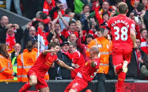 ليفربول يفوز على مانشستر سيتي و يقترب من التتويج باللقب