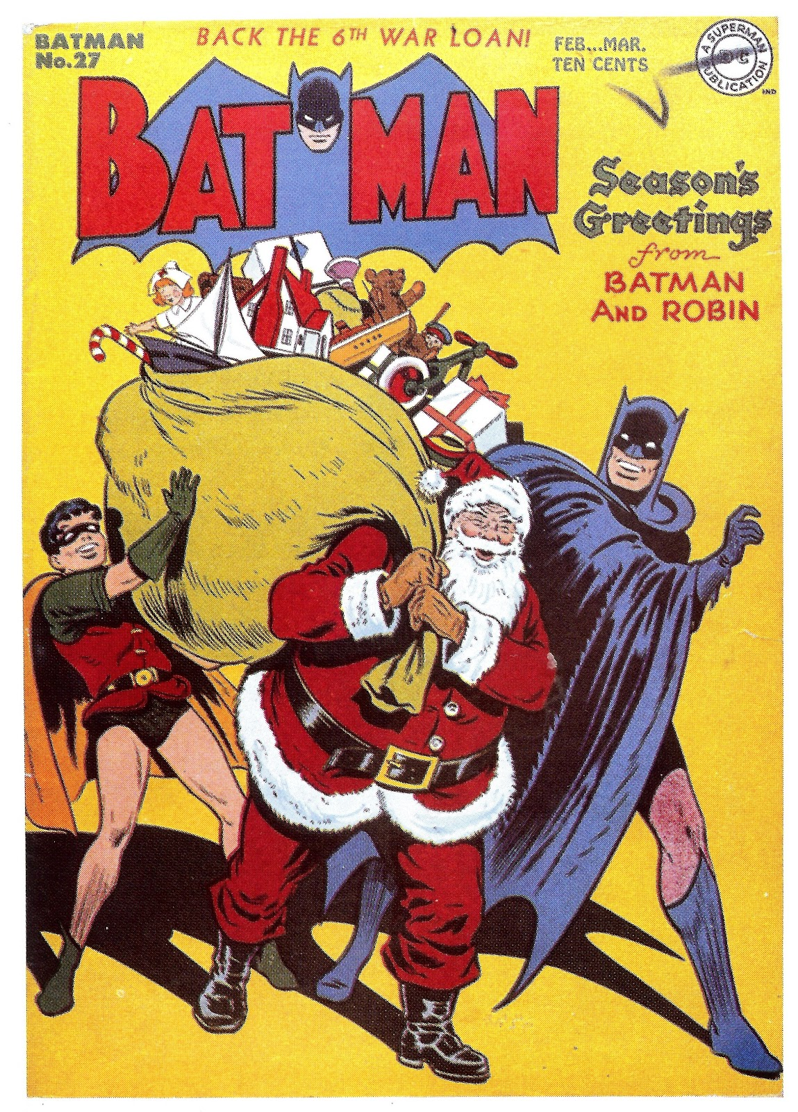Accelerated Decrepitude: Merry Christmas from Batman!