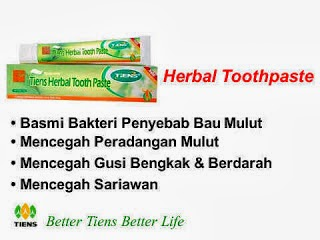 TIENS HERBAL TOOTHPASTE