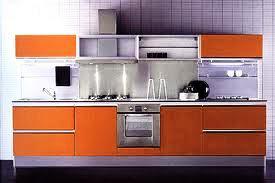 modular kitchen with accessories