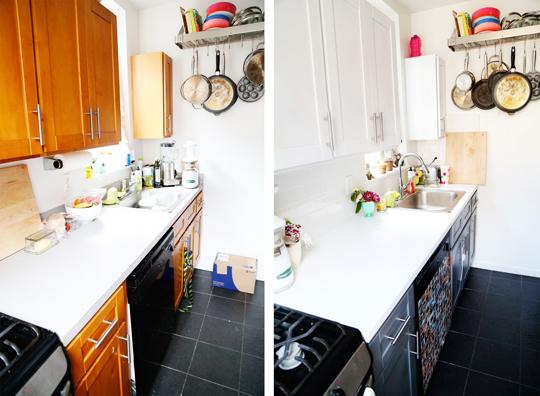 Antes y después de una cocina