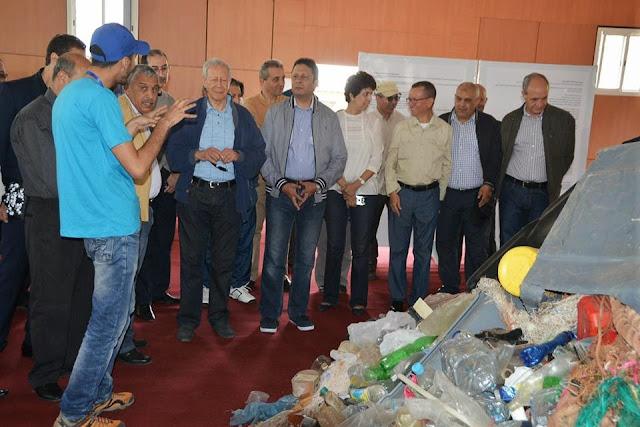المعرض البيئي التربوي الدولي حول النفايات البلاستيكية بالوسط البحري