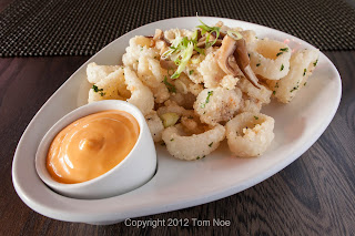 Crispy Calamari and Rock Shrimp