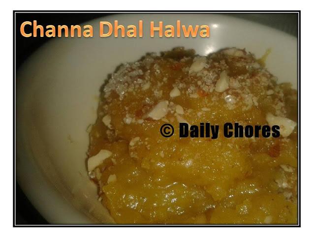 Chana Dhal Halwa
