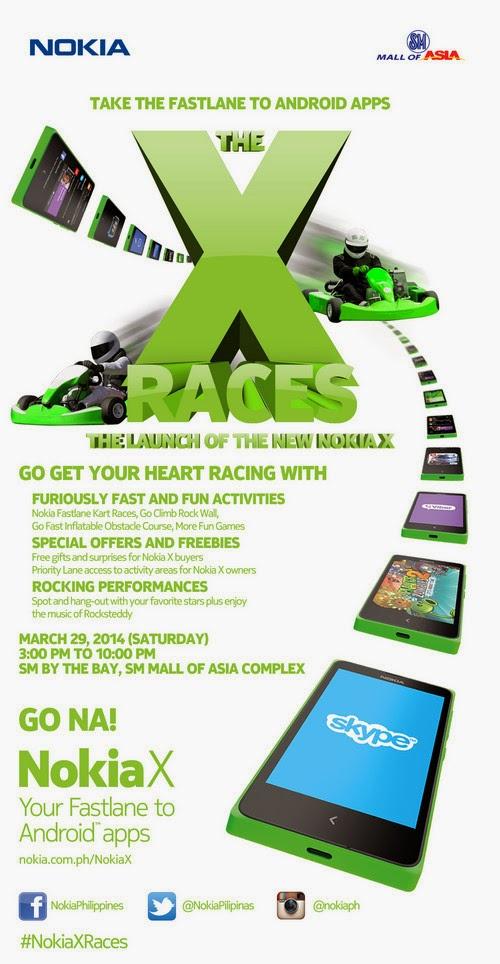 Nokia X Philippines, Nokia X Races