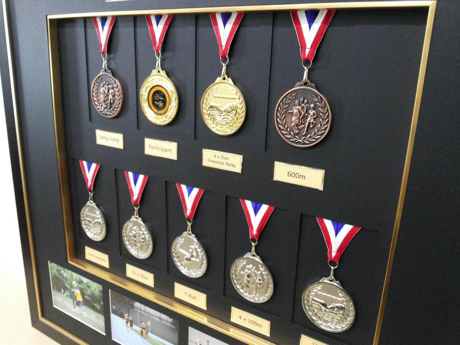Medals Display Basement And Backyard Pinterest