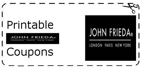 John frieda shampoo coupons 2018