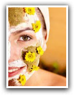 masque essentiel pour soin du visage