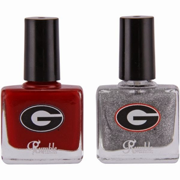 Georgia Bulldogs 2-Pack Nail Polish