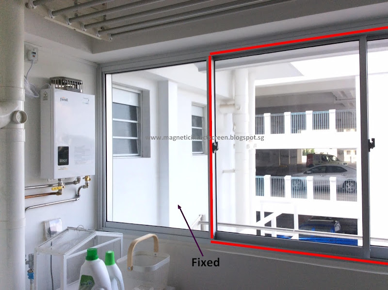 DIY Magnetic Insect Screen Singapore: Sliding Window without Grilles