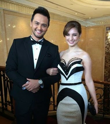 8th Star Magic Ball Couple Billy Crawford and Coleen Garcia